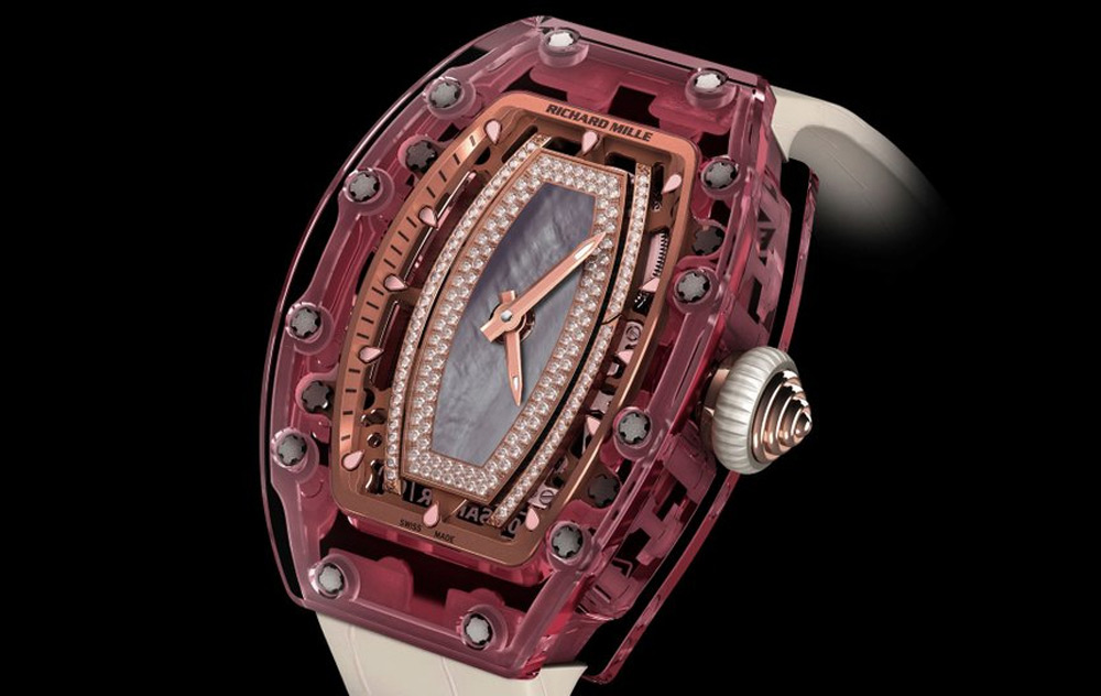 Richard Mille's New Automatic Pink Sapphire Watch Will Cost You $1 Million