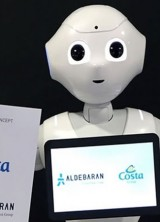 Friendly Robot Pepper Will Serve Onboard Crystal Cruises