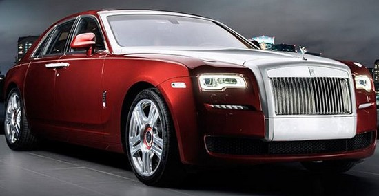 Unique Rolls-Royce Ghost Red Diamond Edition For Saudi Arabia's Royal Family