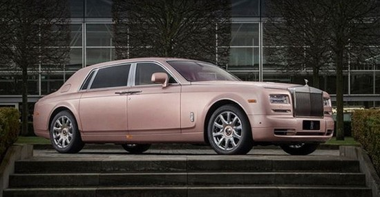 Unique Rolls-Royce Sunrise Phantom Extended Wheelbase