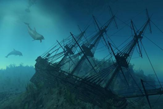 Sunken San Jose Ship