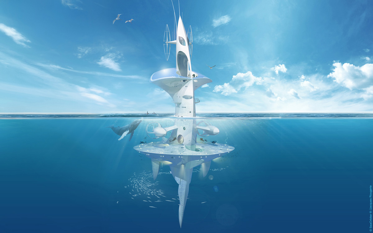SeaOrbiter - Unique International Oceanic Station