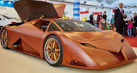 Splinter - The Wooden Supercar