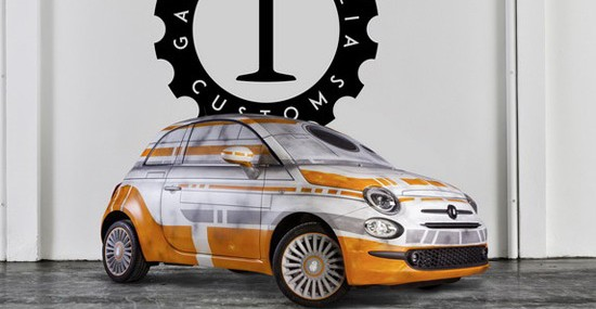 Fiat 500 And Star Wars