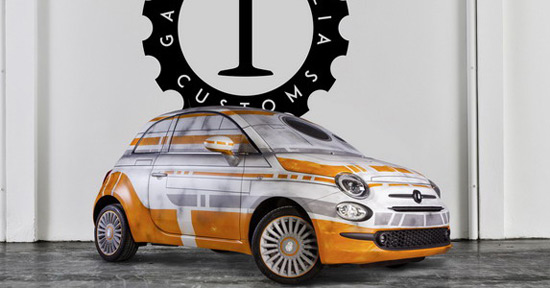 Star Wars Fiat 500