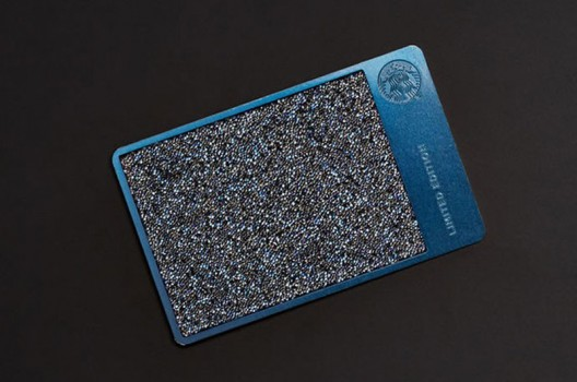 Starbucks Holiday Card With Swarovski Crystals