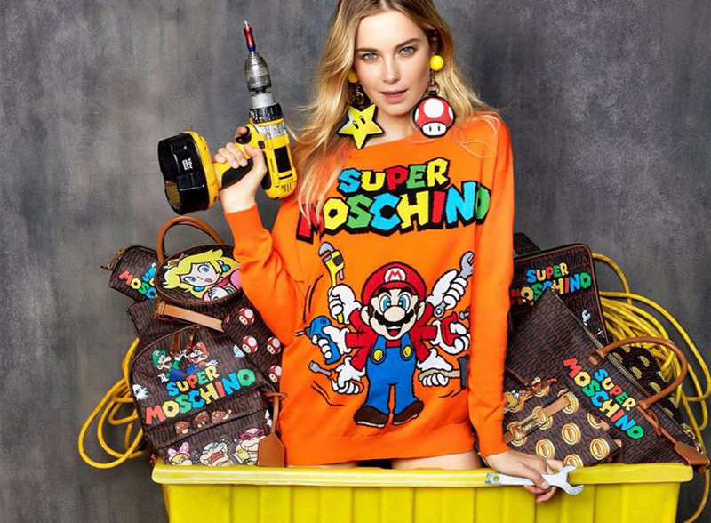 """Super Moschino"" - Super Mario-Themed Capsule Collection"