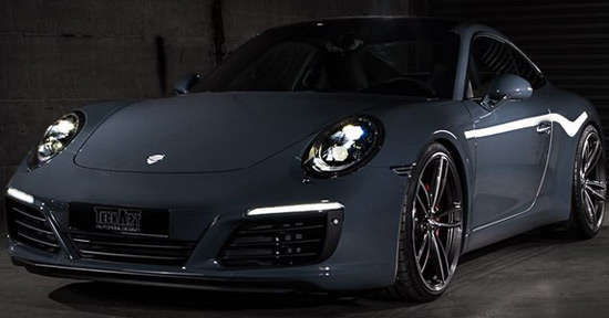 TechArt Porsche 911 With New Package