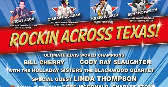 "Southfork Ranch To Host ""Texas' Tribute To Elvis"""