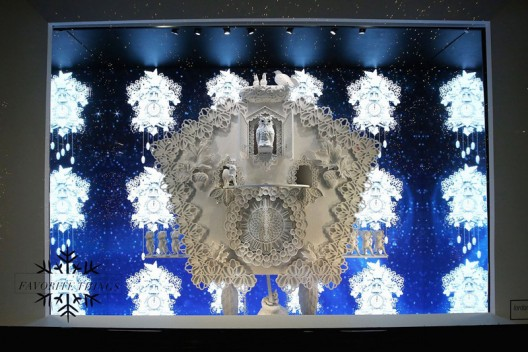 Saks Fifth Avenue Transformed Into a Winter Palace For Holiday Season