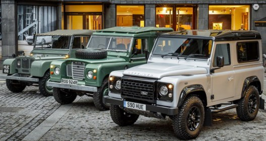 Two Millionth Land Rover Defender