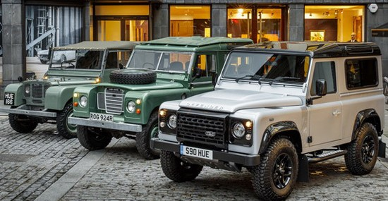 Two Millionth Land Rover Sold at Auction for £400,000