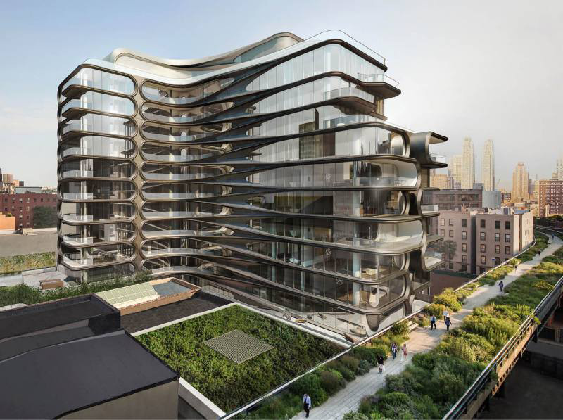 Zaha Hadid's First Residential Building In New York City