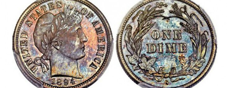Rare 1894 Dime Was Just Sold For $2 Million At Auction