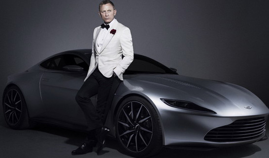 James Bond's Aston Martin DB10 From 'Spectre' Goes Under Hammer