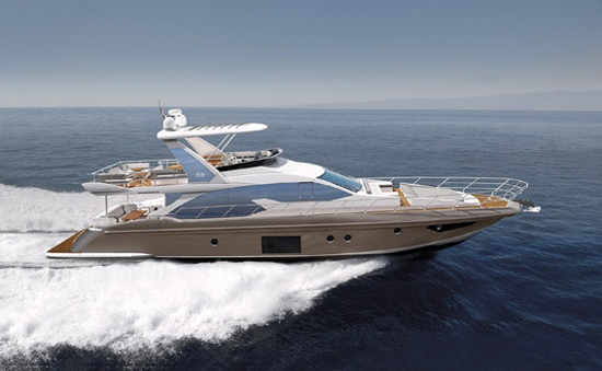 World Premiere Of The Azimut 66 At Boot Düsseldorf 2016