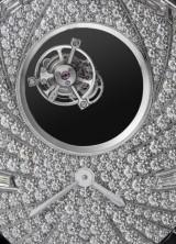 Cartier's High Jewelry Tourbillon Mystérieux Azuré Watch