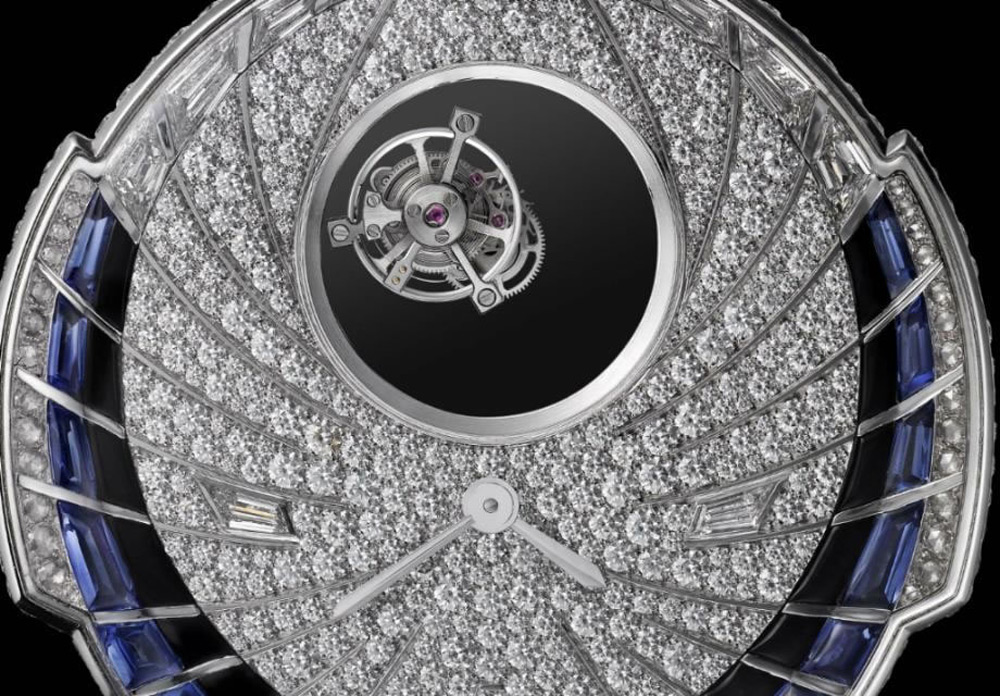 Cartier's High Jewelry Tourbillon Mystérieux Azuré Watch
