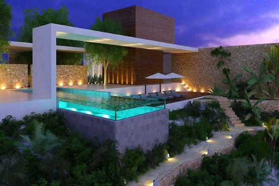 Cenote Spa At The Grand Hyatt Playa Del Carmen