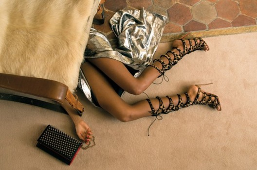 """Who Killed Amazoula?"" - Christian Louboutin's Newest Promotional Campaign"