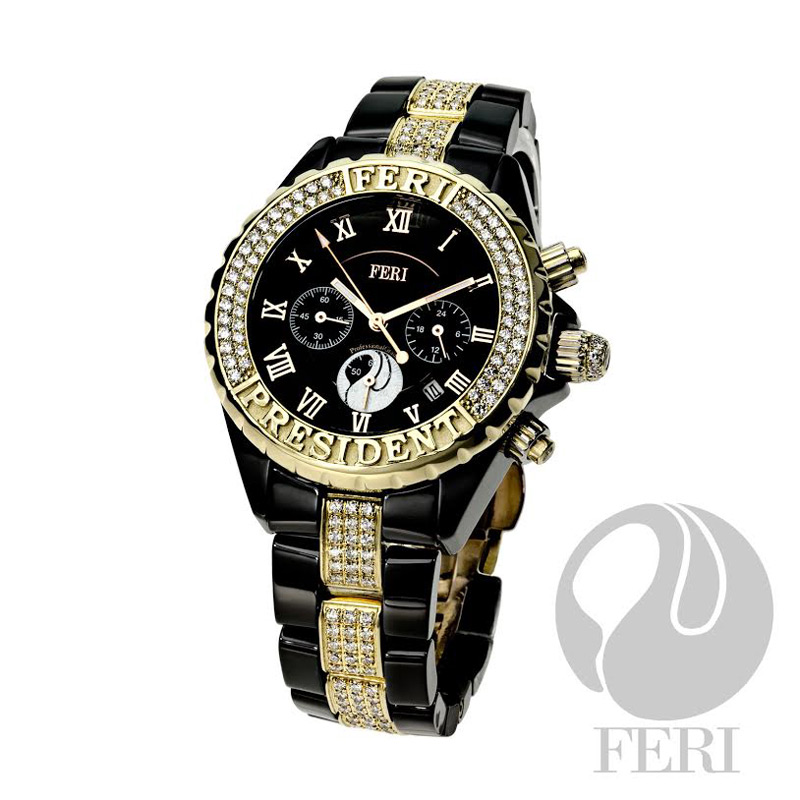 """President"" - Luxury Timepiece by FERI"