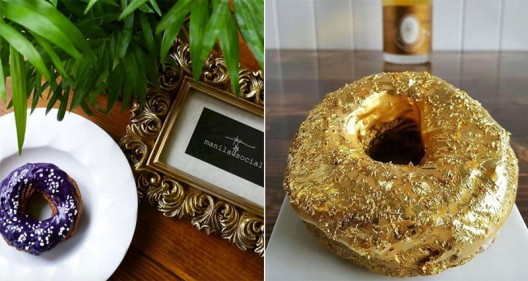 Doughnut With Gold Flakes Will Cost You $100