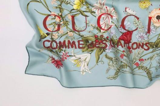 Gucci Silk Scarves by COMME des GARÇONS