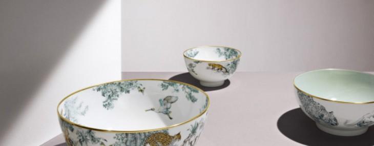 Hermès' Carnets d'Equateur Tableware Collection
