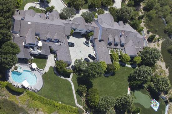 Jennifer Lopez Hidden Hills