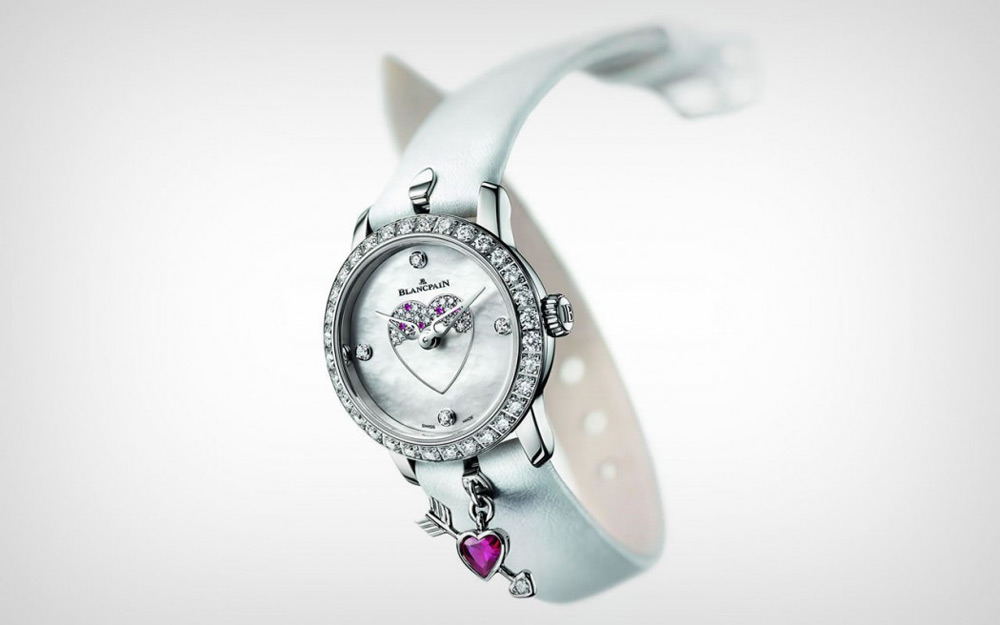 'The Loveable Ladybird' - Blancpain's New Limited Edition Timepiece For Valentine's Day