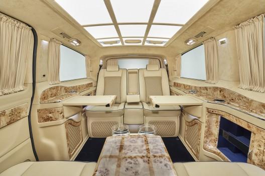 LARTE Design shows amazing Black Crystal V-Class in Geneva