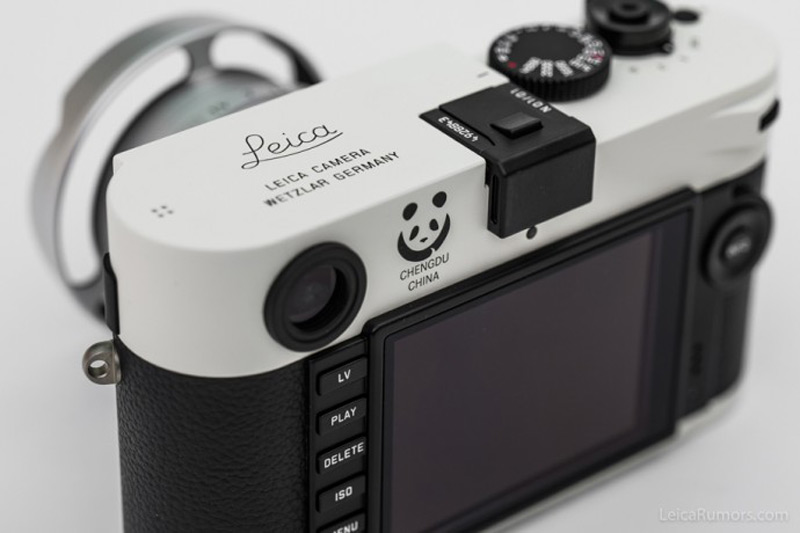 "Leica Unveiled M-P ""Panda"" Limited Edition"