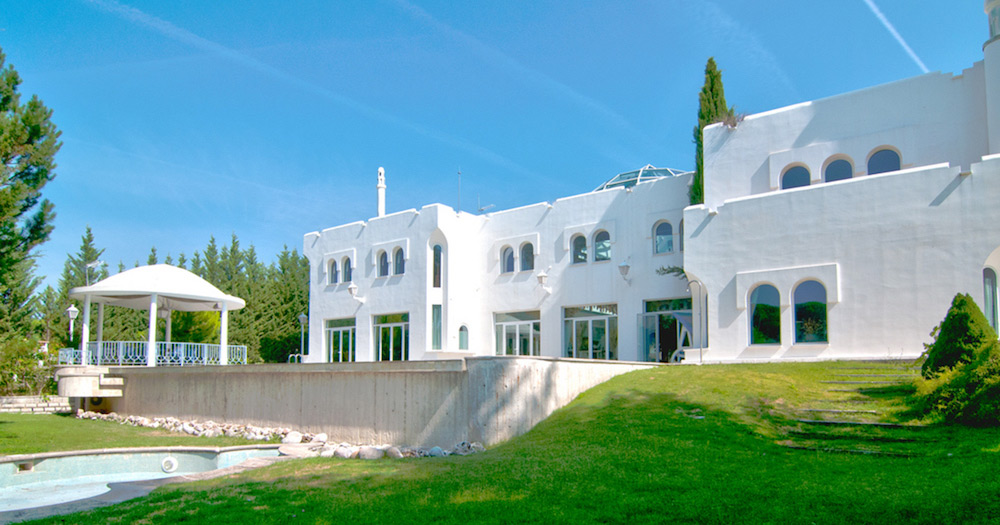 €2.6 Million Mediterranean Manor with Indoor Garden Sanctuary In Madrid