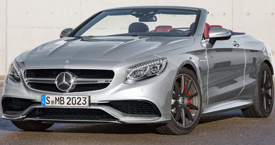 Mercedes-AMG S63 4MATIC Cabrio 130 Edition