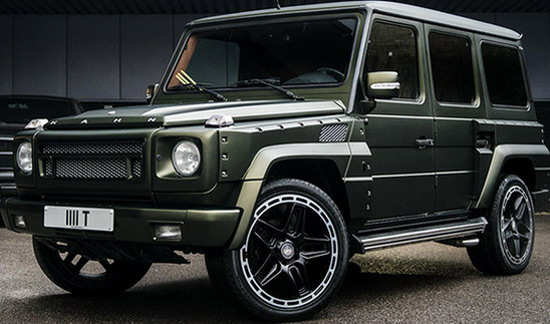 Mercedes G6 Wide Track by Kahn Design