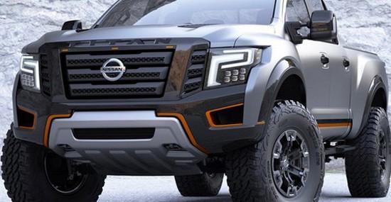 Nissan Titan Warrior At Detroit Auto Show