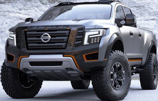 Nissan Titan Warrior At Detroit Auto Show