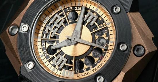 New Octopus Moon Gold 3DTP Carbon by Linde Werdelin
