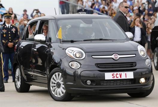 Pope Francis' Fiat 500L
