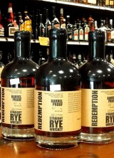 Redemption 7 Year Old Barrel Proof Straight Rye Whiskey