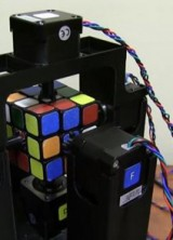 Robot Solves Rubik's Cube In Just One Second