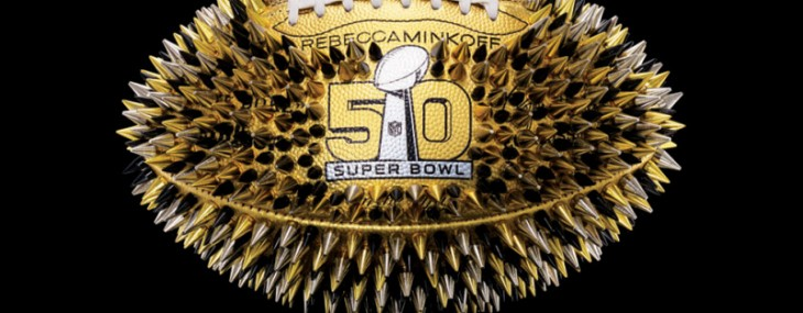 Specially Designed Footballs for Super Bowl 50