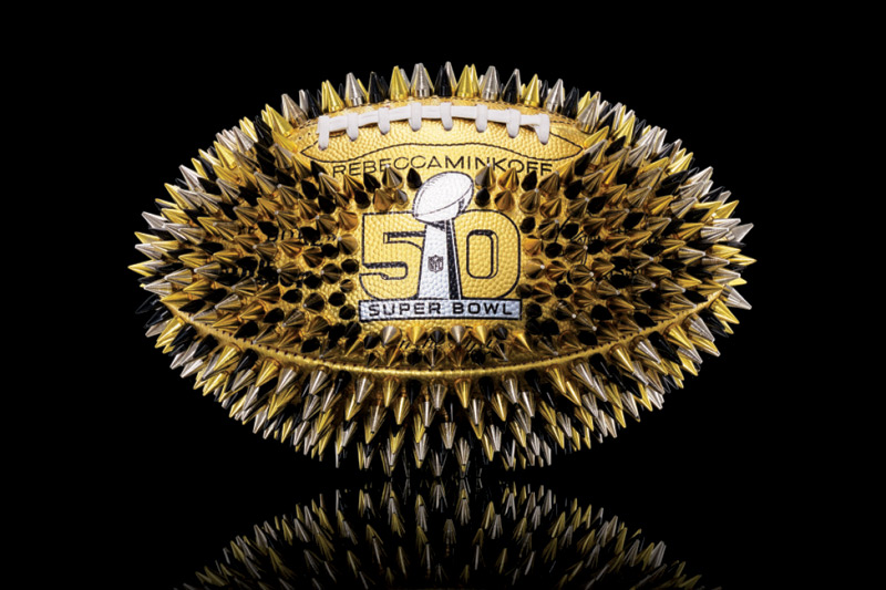 Specially Designed Footballs for Super Bowl 50