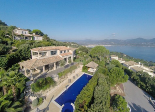Modern Drone Will Help You To Find Perfect St Tropez Villa