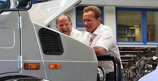The Terminator's Unimog On Sale