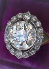 Celebrate Valentine's Day With Vintage Diamond Rings