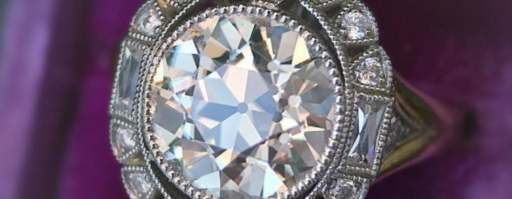 Celebrate Valentine's Day With Vintage Diamond Rings