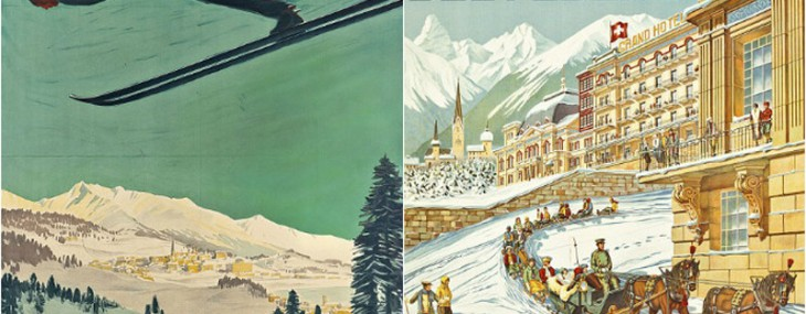 Collection of Vintage Ski Posters Could Fetch £1 Million At Auction