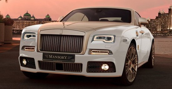 Special Mansory Rolls-Royce Wraith Palm Edition 999