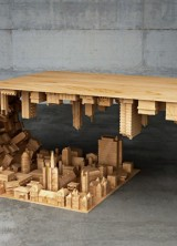 Inception-Inspired Wave Coffee Table by Stellos Mousarris
